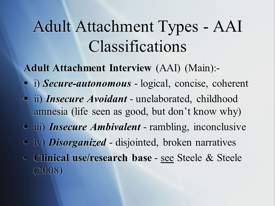 Adult attachment issues, action fetish foot