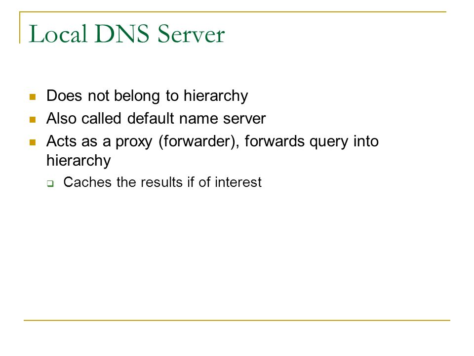 Internet Engineering DHCP, DNS  - ppt download
