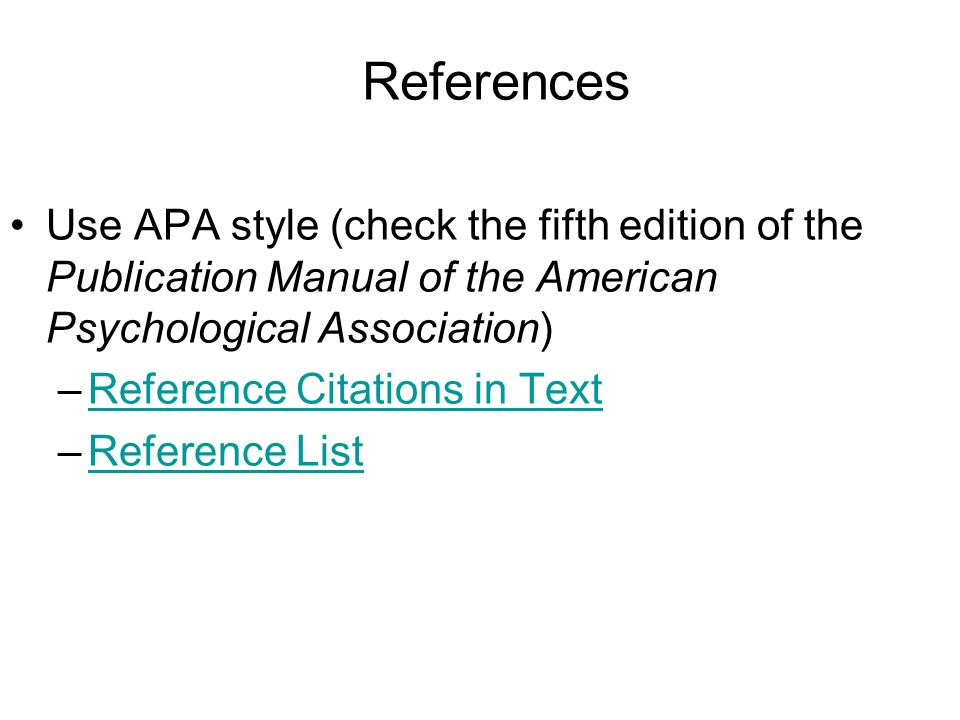 Apa Literature Review In Text Citation Welcome To The