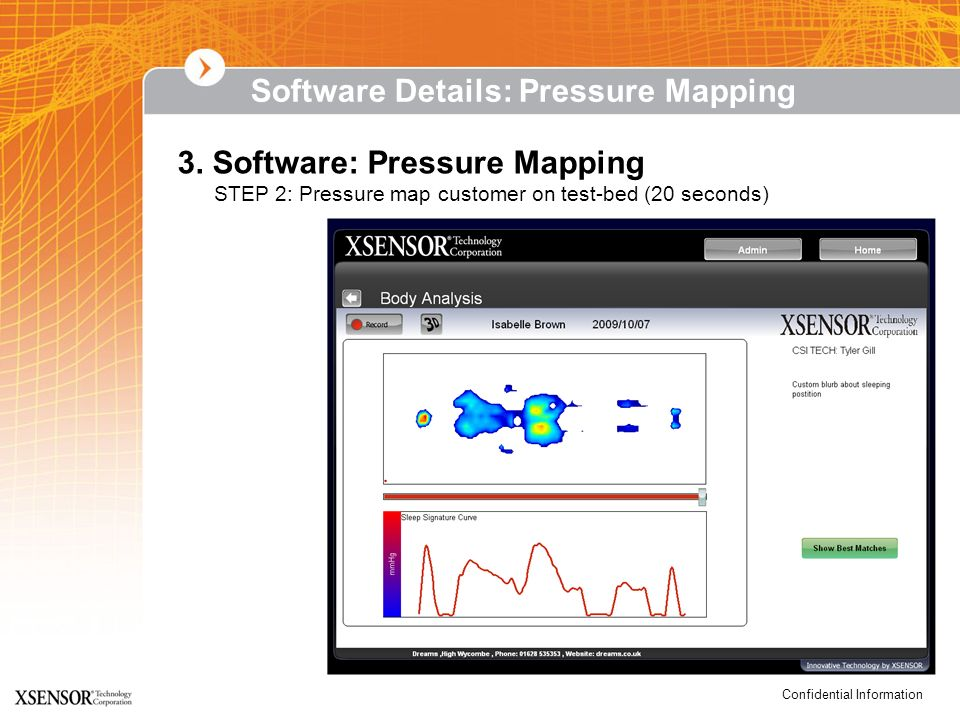 Software Details: Pressure Mapping