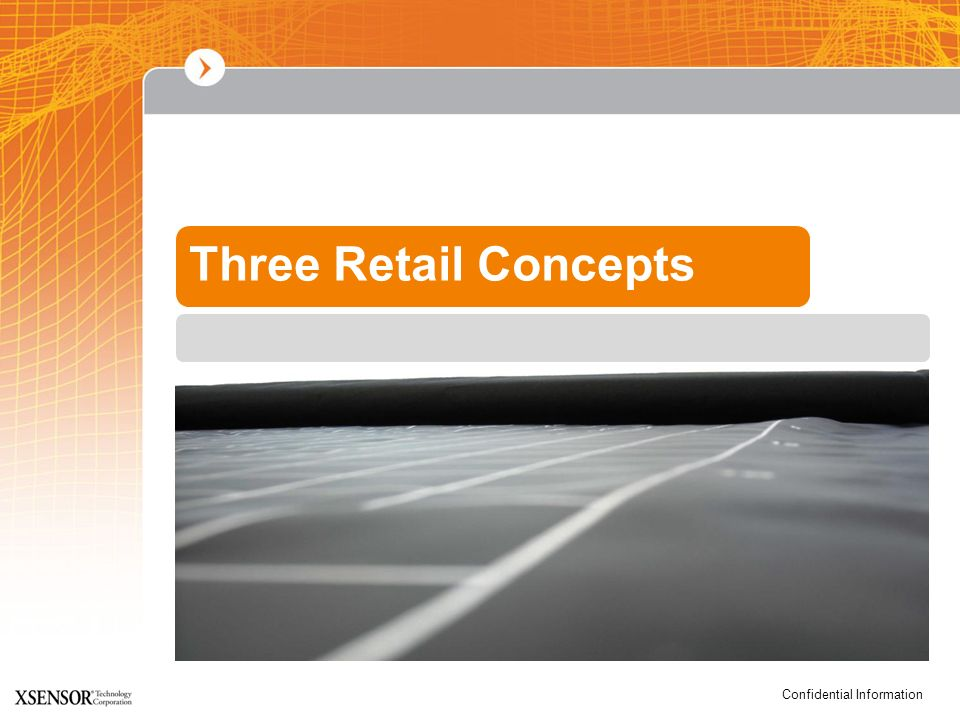 Three Retail Concepts