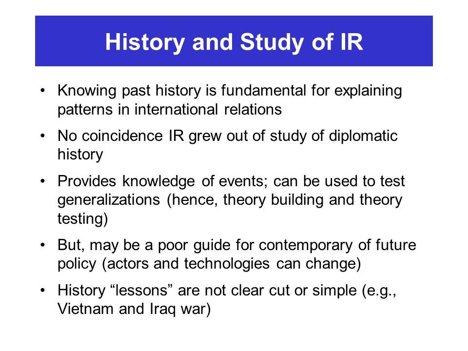 International Relations - ppt video online download