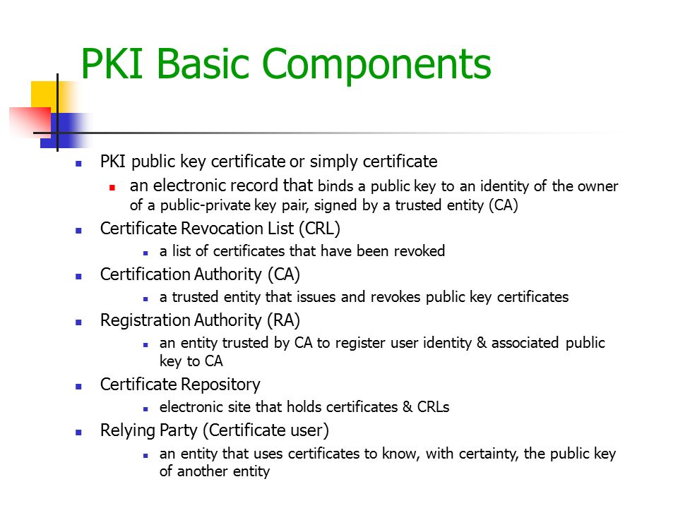 Network Security And Public Key Infrastructure Pki Ppt Video