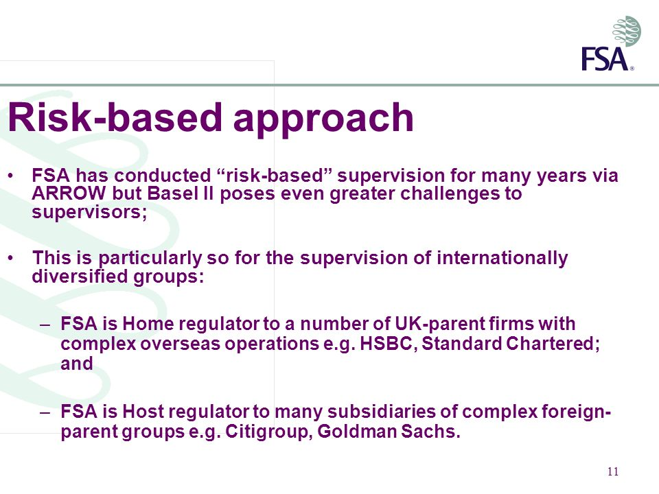 BASEL II / EU Capital Requirements Directive: The UK Approach - ppt