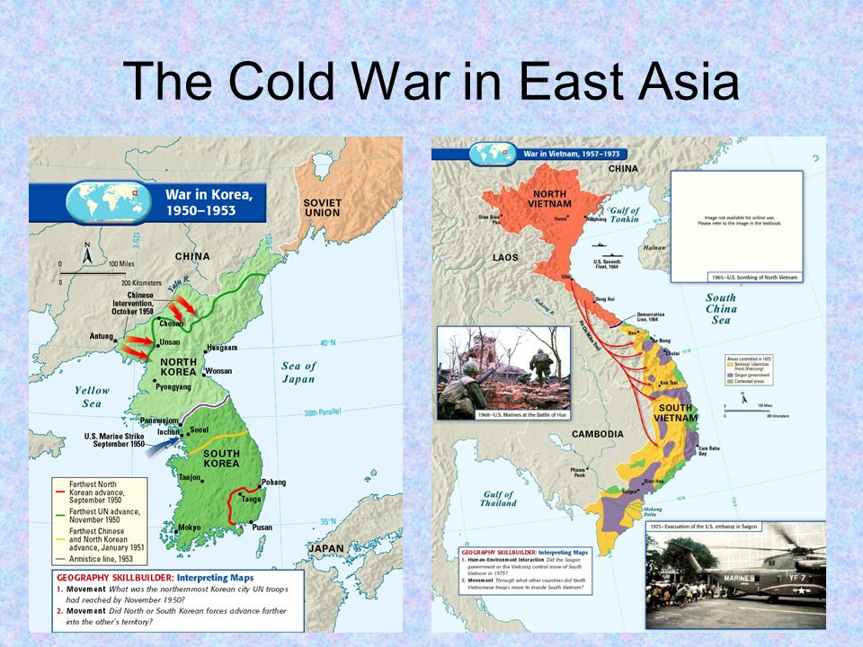 Map Of Asia During The Cold War.Unit Intro Modern America Origins Of The Cold War Ppt Video