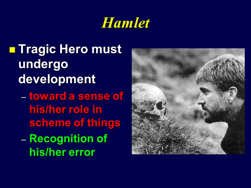 how was hamlet a tragic hero