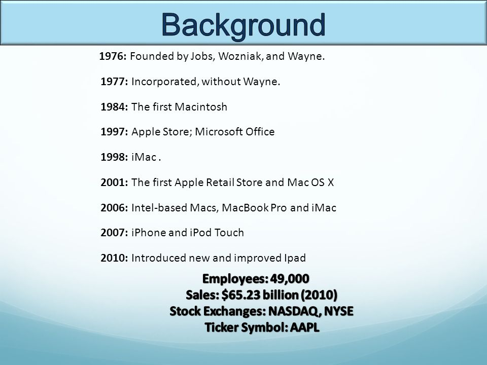 Apple Inc Sheila Jung Eric Kao Ppt Video Online Download