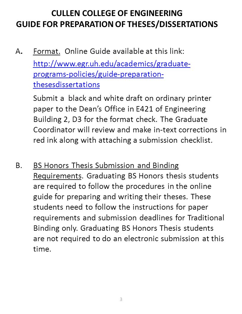 uconn dissertation submission checklist