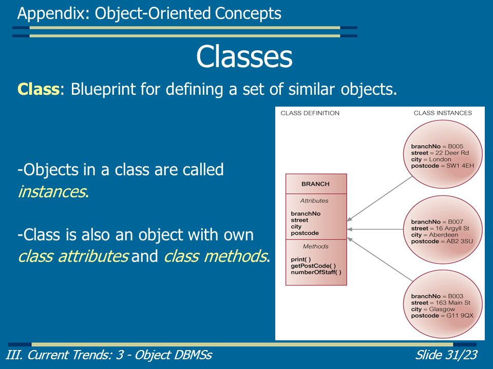 Part 3 introduction to object dbmss ppt video online download classes appendix object oriented concepts malvernweather Choice Image