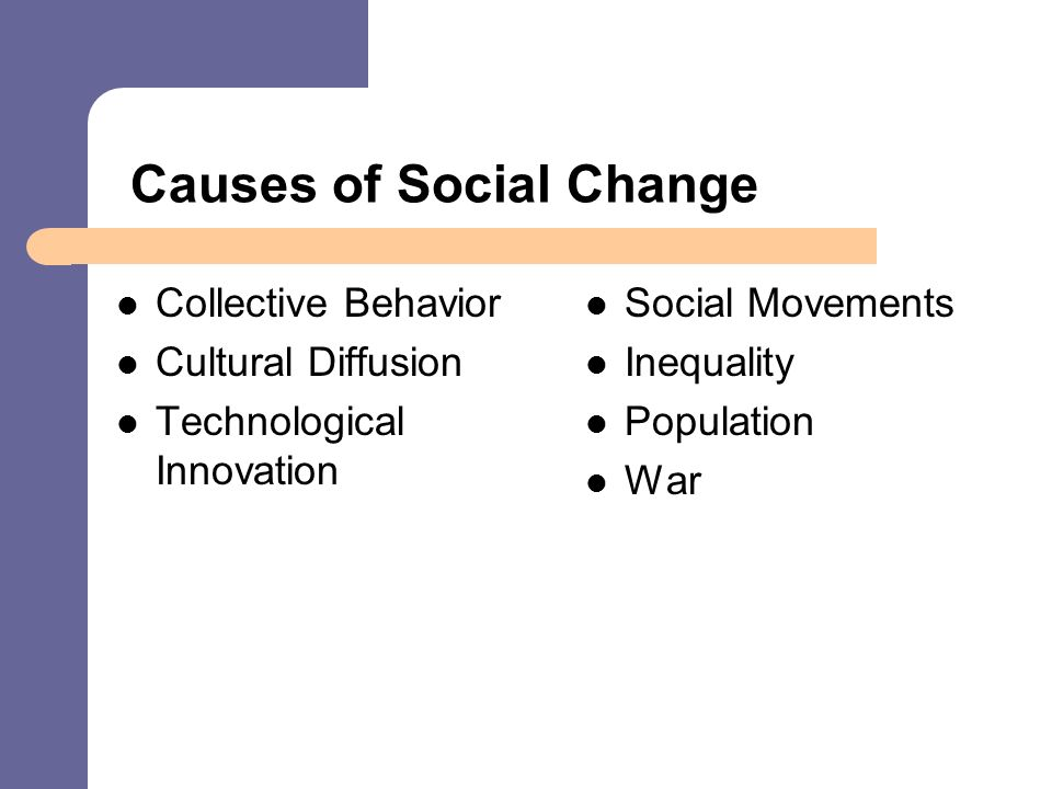 diffusion in social change