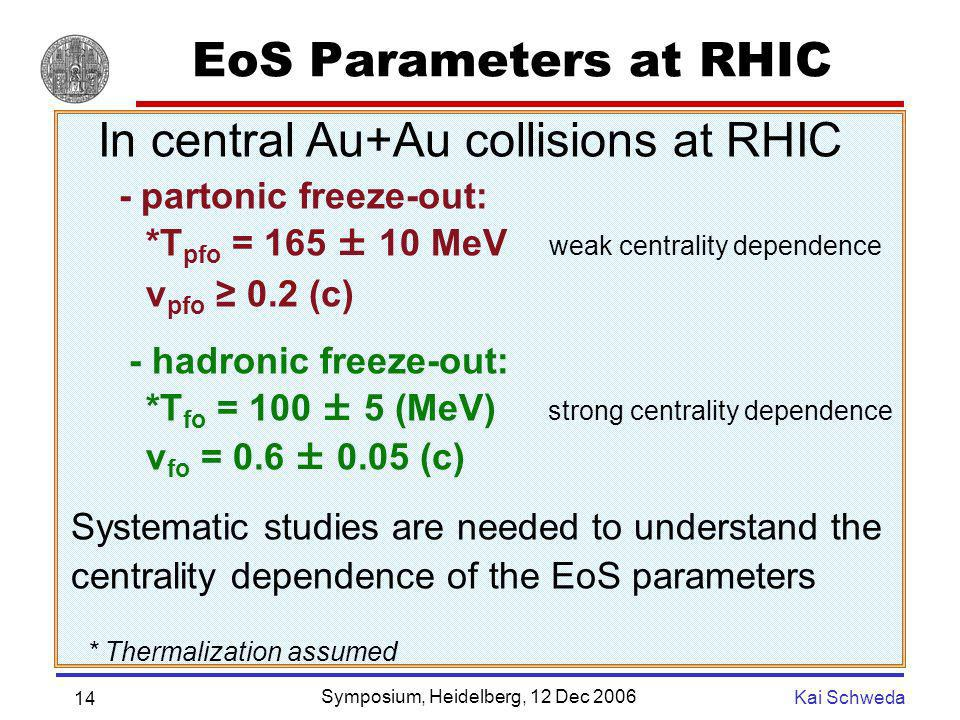 In central Au+Au collisions at RHIC
