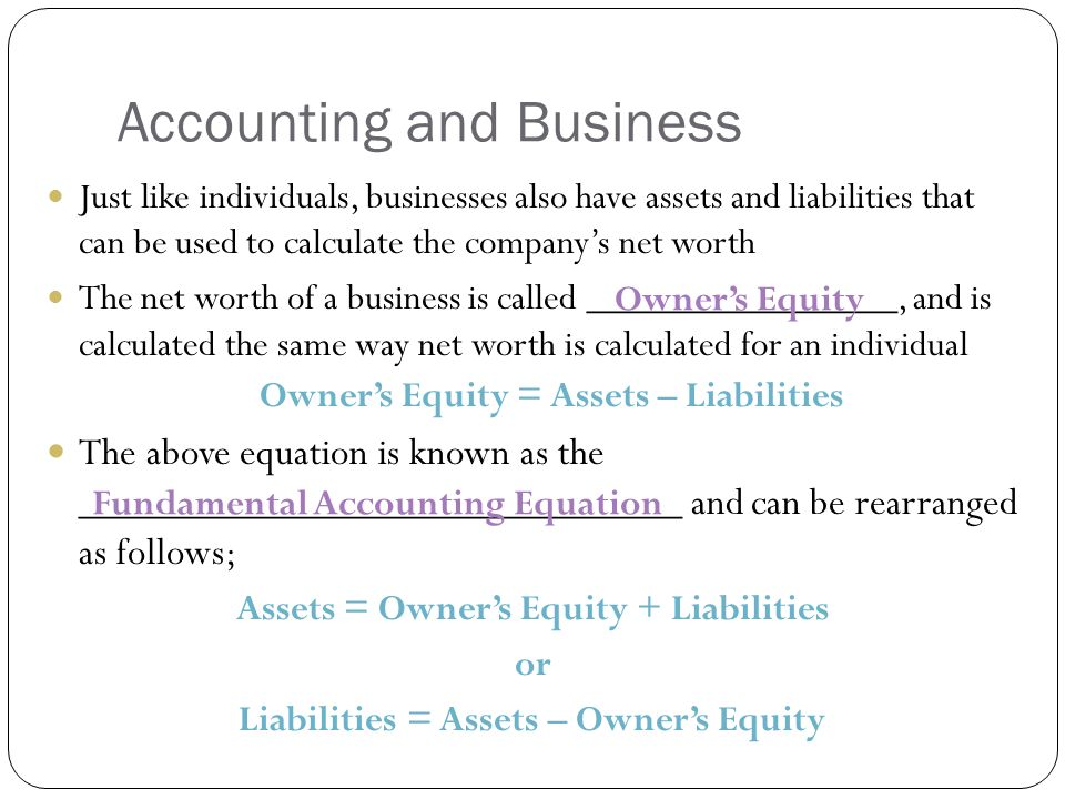 Chapter 9 Accounting Day 1 Introduction to Accounting ppt video