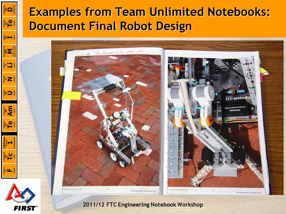 The Ftc Engineering Notebook Ppt Video Online Download