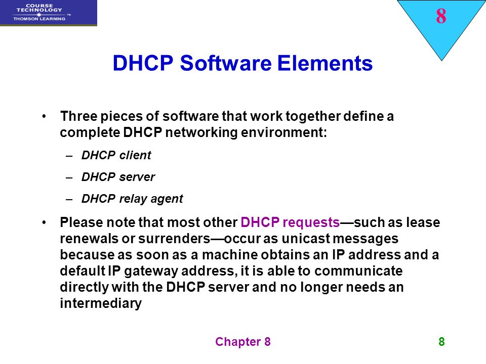 Dhcp software