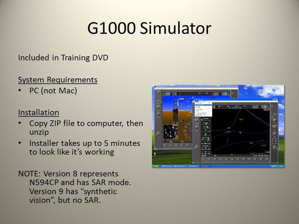 G1000 simulator pc download