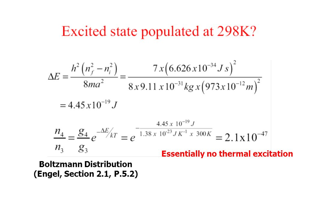 """Lecture 4  Application to the Real World Particle in a """"Finite"""" Box"""