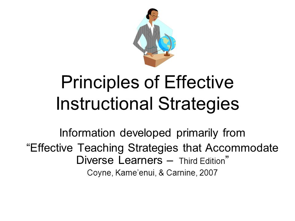 effective teaching strategies for students with intellectual However, collaboration among teachers, setting high learning goals, effective teaching strategies, and providing some basic modifications can help sld be more engaged and succeed in science classes keywords: student engagement, special education, teaching strategies, learning goals, modifications.