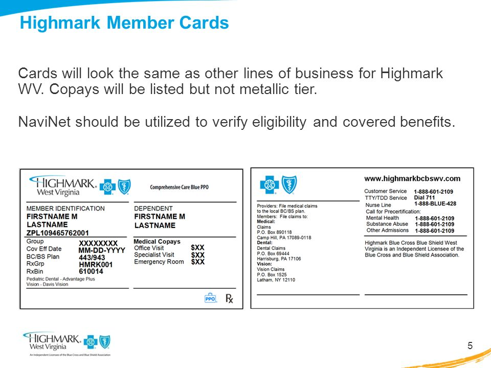 Highmark Blue Cross Blue Shield WV May 15, ppt download