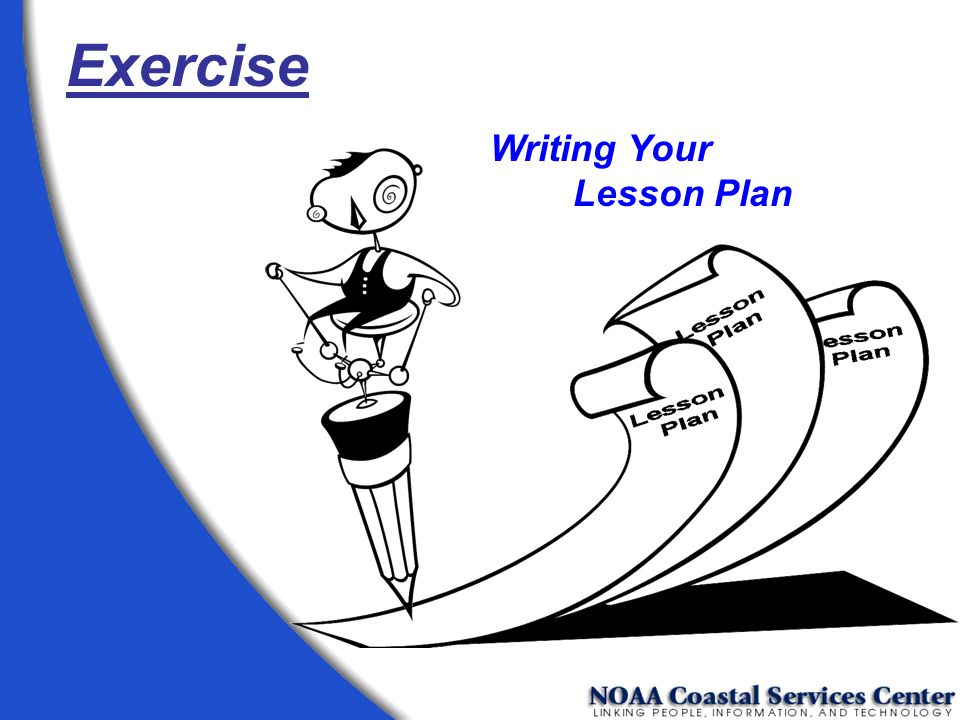 Exercise Writing Your Lesson Plan