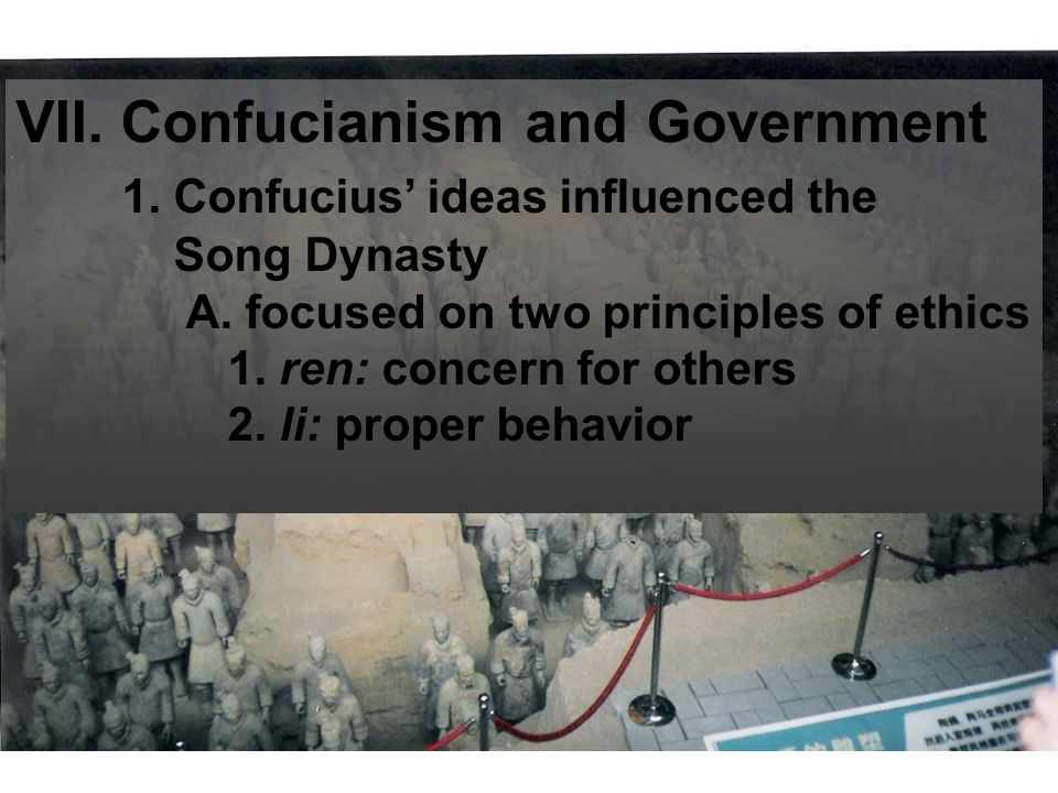 confucianism five significant influences on the han dynasty 1453 and the han dynasty in 220, mainly because it was a long and dreadful decline the romans experienced mass political chaos, plagues, invasion, and bankruptcy before their collapse.
