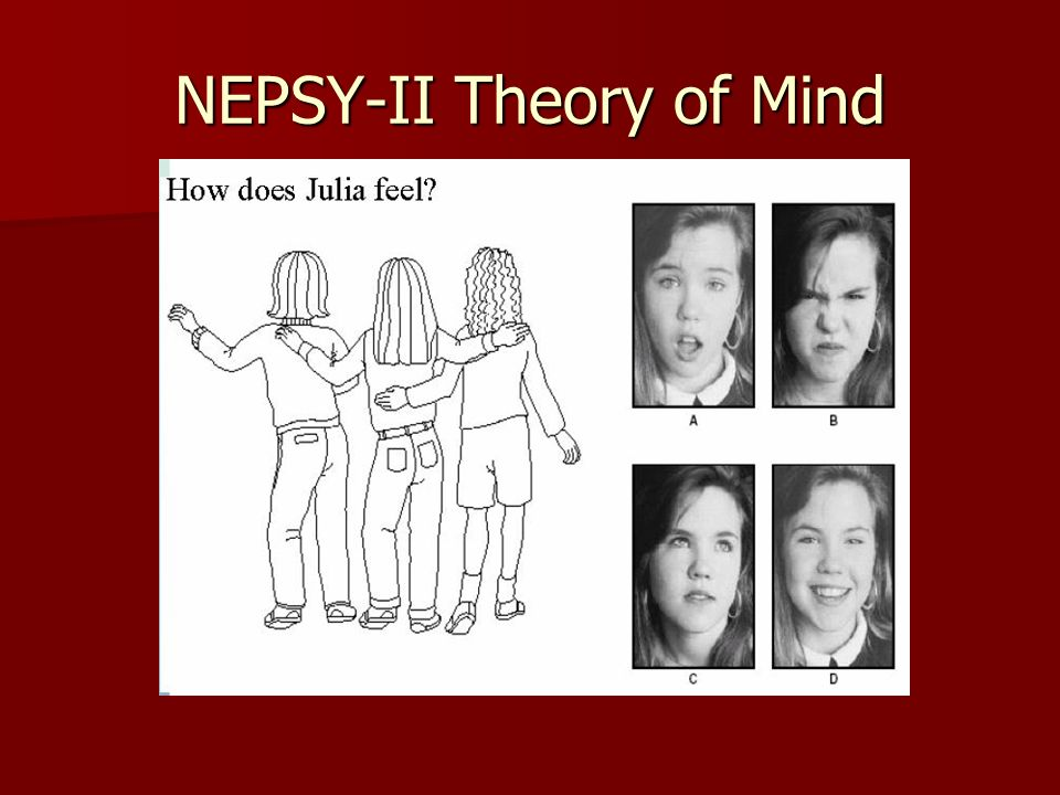 NEPSY-II Theory of Mind