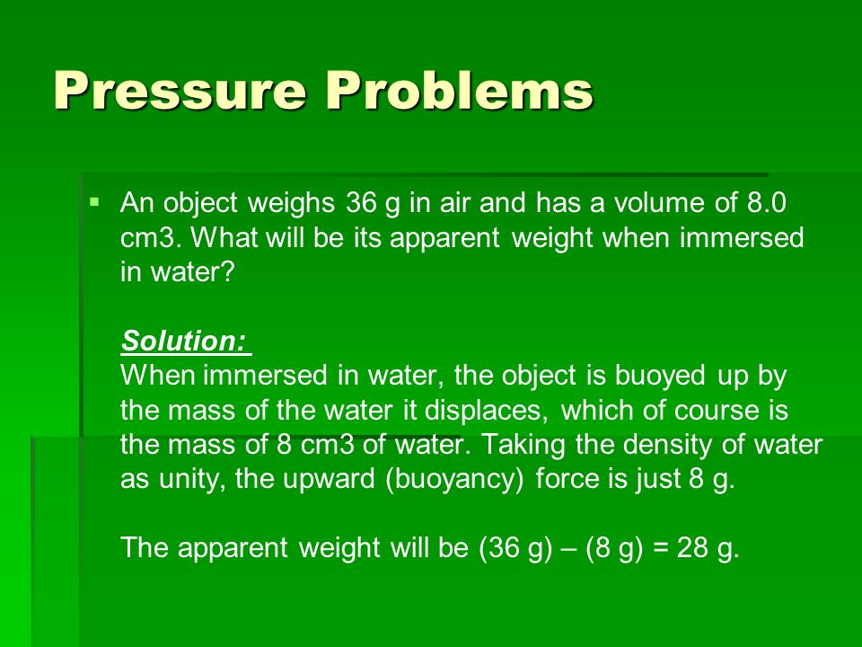 Physical Science Unit: Forces in Fluids  - ppt video online