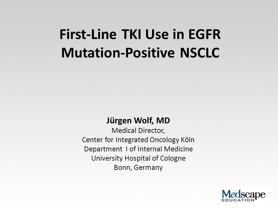 First-Line TKI Use in EGFR Mutation-Positive NSCLC