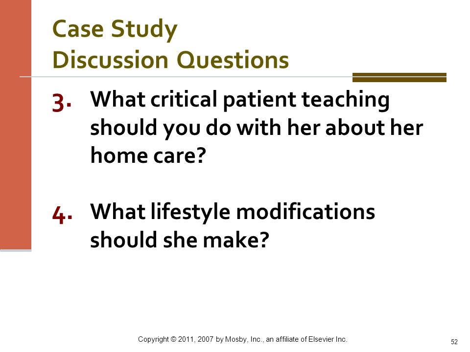 Case Study Discussion Questions