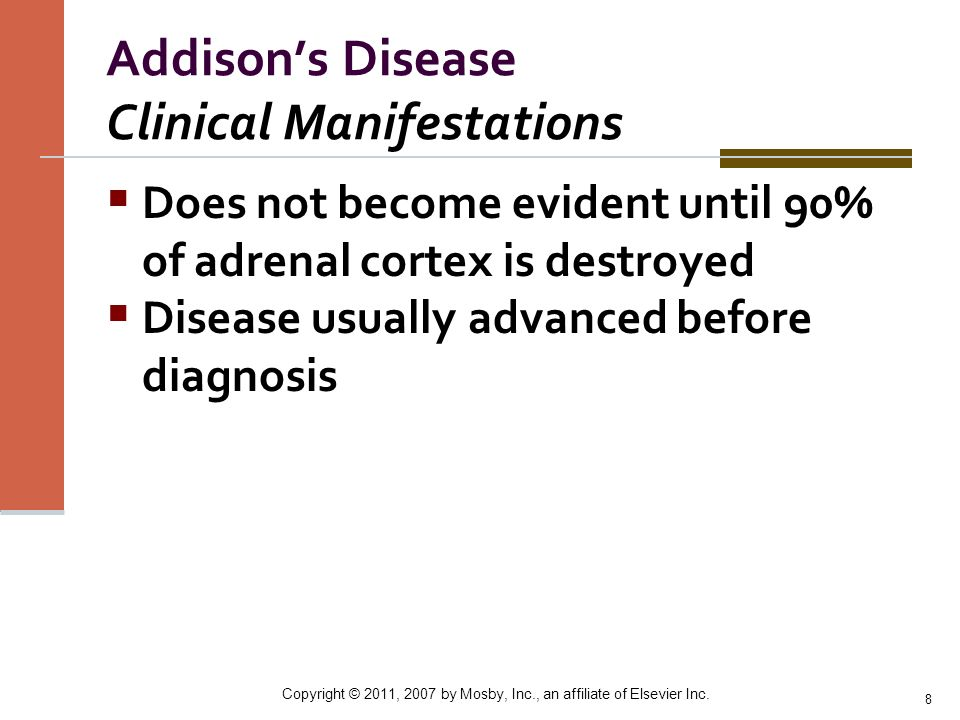 Addison's Disease Clinical Manifestations
