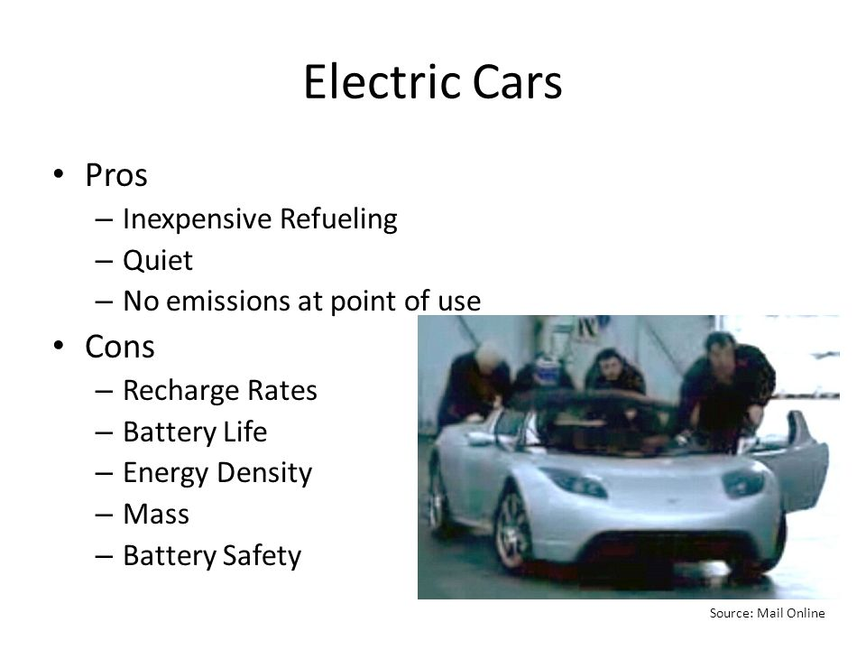 myth electric cars are the next big thing ppt video online download. Black Bedroom Furniture Sets. Home Design Ideas