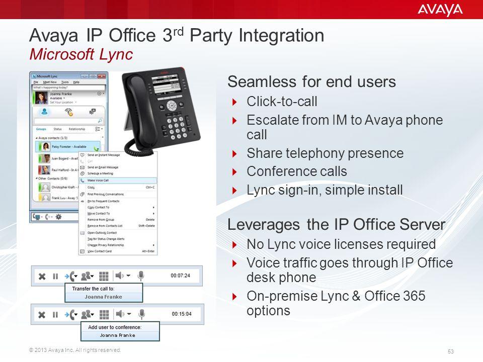 Avaya IP Office™ Platform Customer Presentation - ppt download