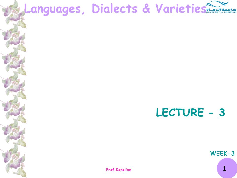 varieties of language dialect idiolect register and style
