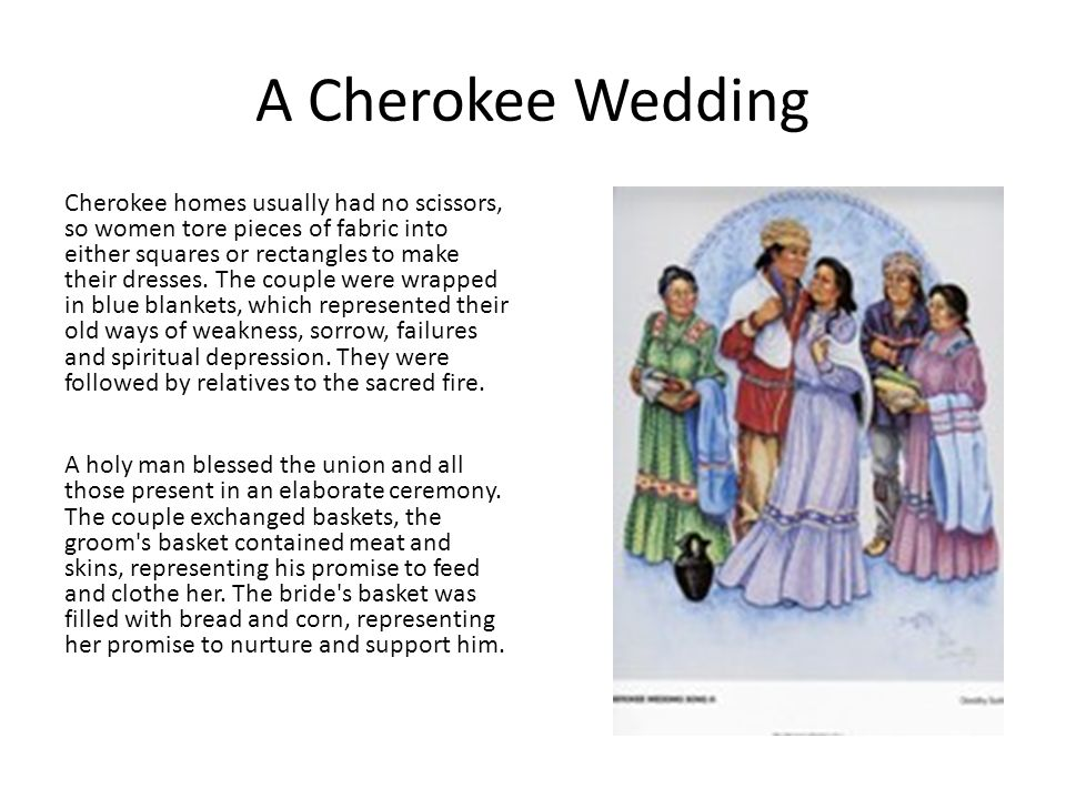 A Cherokee Wedding