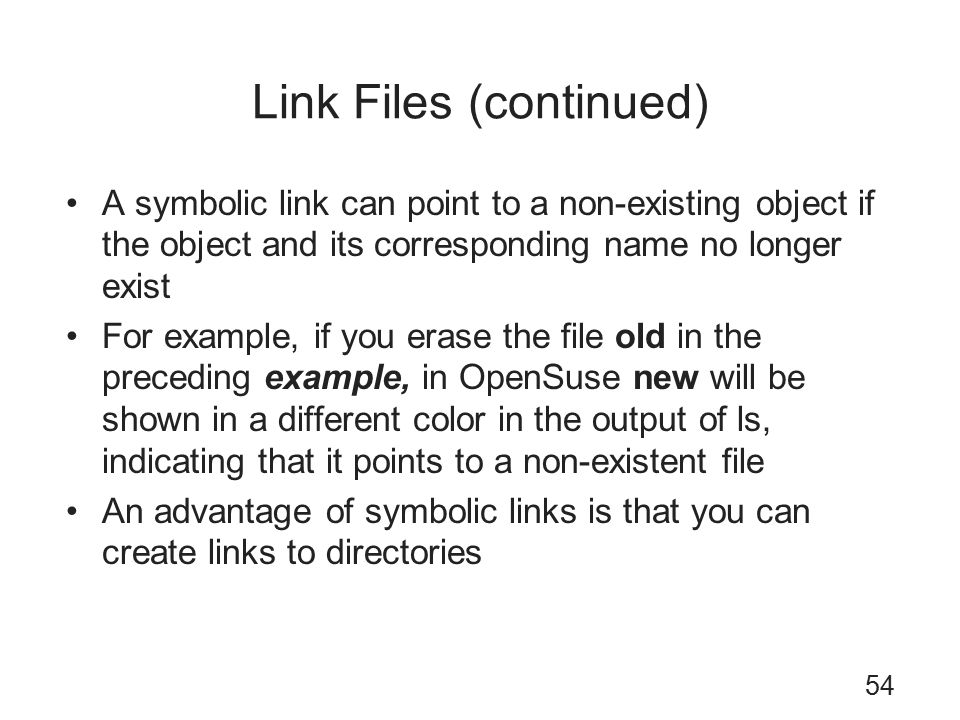 Manage Directories And Files In Linux Ppt Download