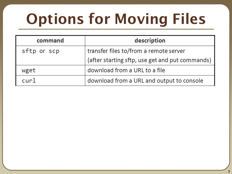 CSE 390a Editing and Moving Files - ppt download
