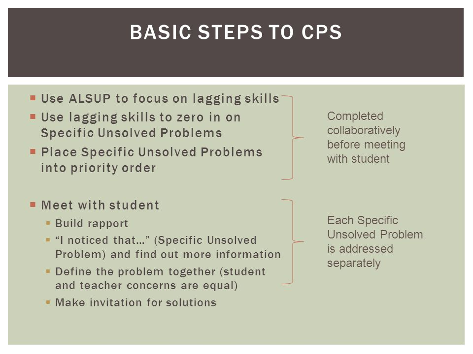 Collaborative Problem Solving in Schools - ppt video online