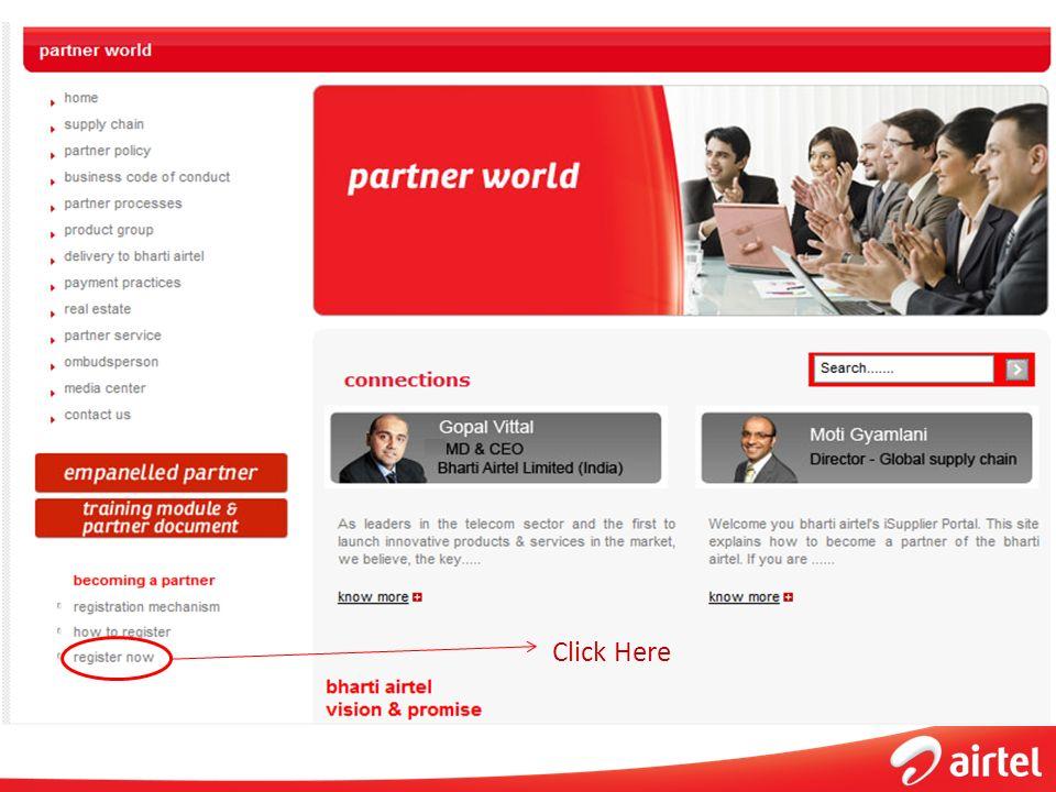 New Partner Registration Process - ppt video online download