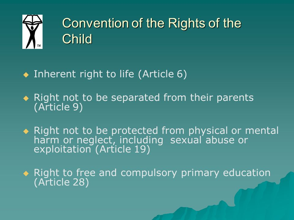 Convention of the Rights of the Child