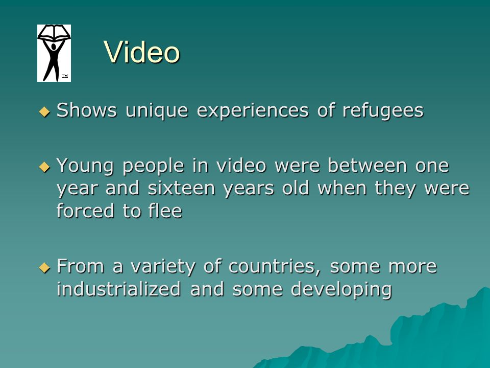 Video Shows unique experiences of refugees