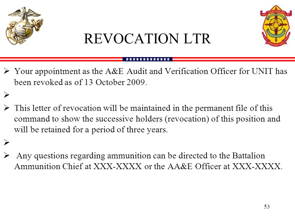 AE TRAINING INTRODUCTION REQUIREMENTS