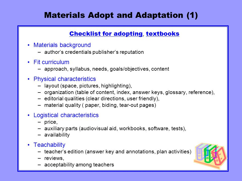 MATERIALS FOR SECOND LANGUAGE LEARNING Ppt Video Online