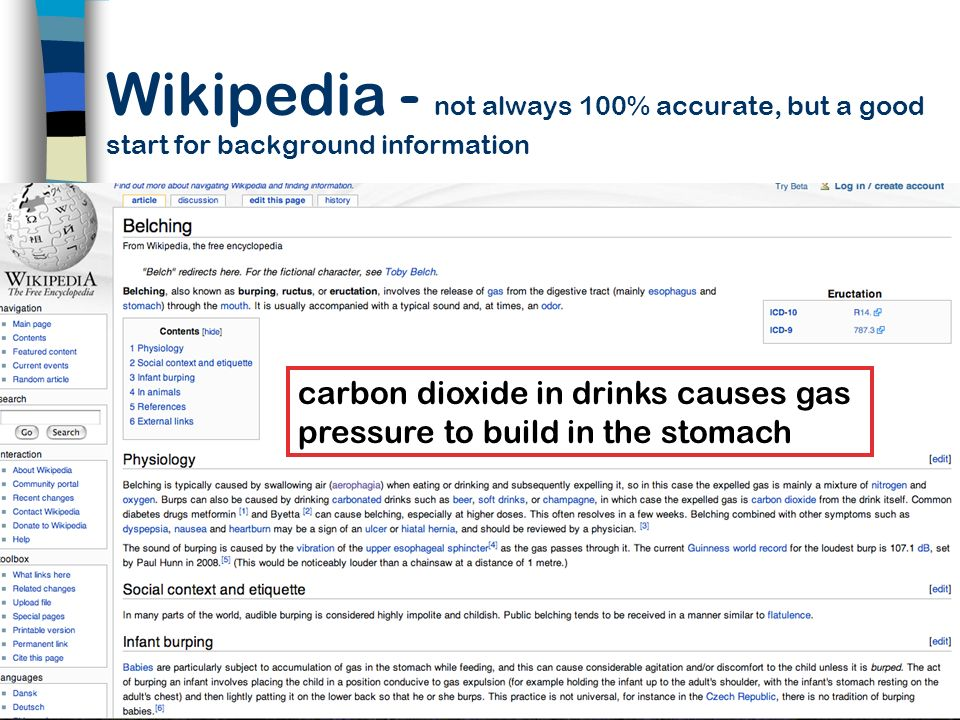 Wikipedia - not always 100% accurate, but a good start for background information