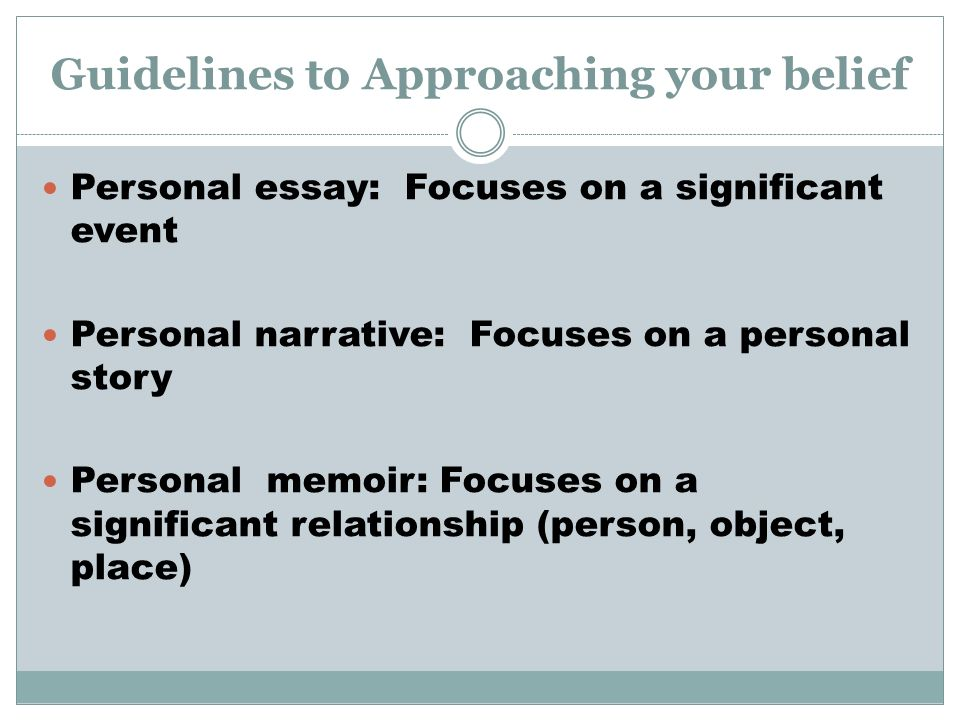 Essay Writing Guidelines - ppt download