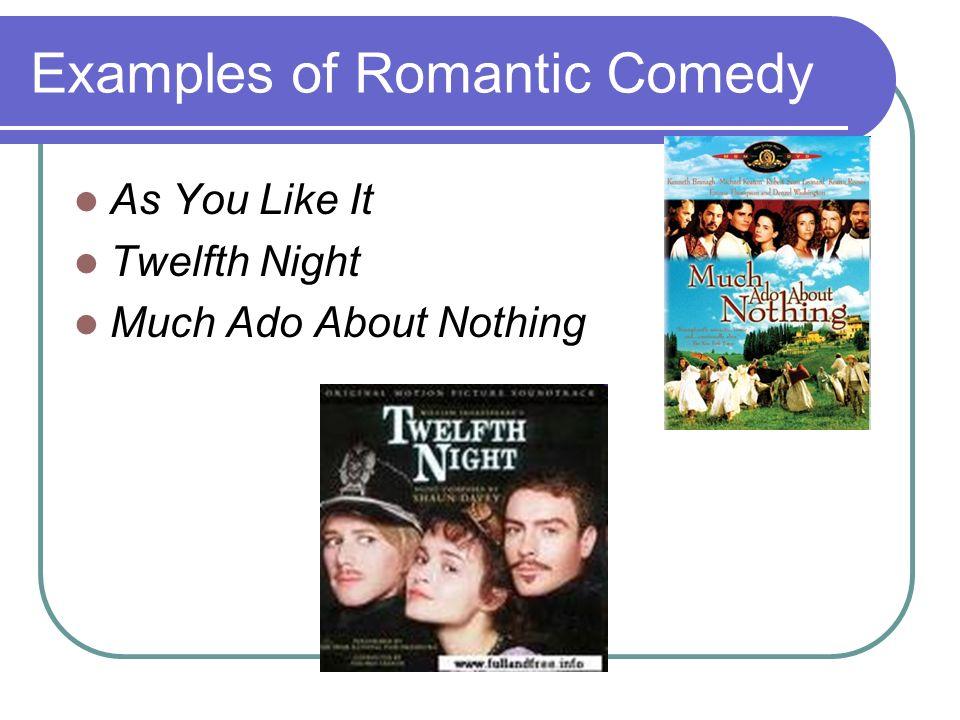 romantic comedy examples