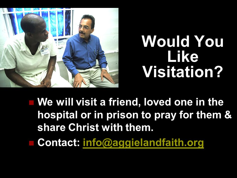 Would You Like Visitation