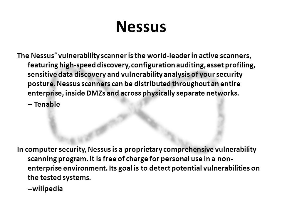 Nessus  - ppt download