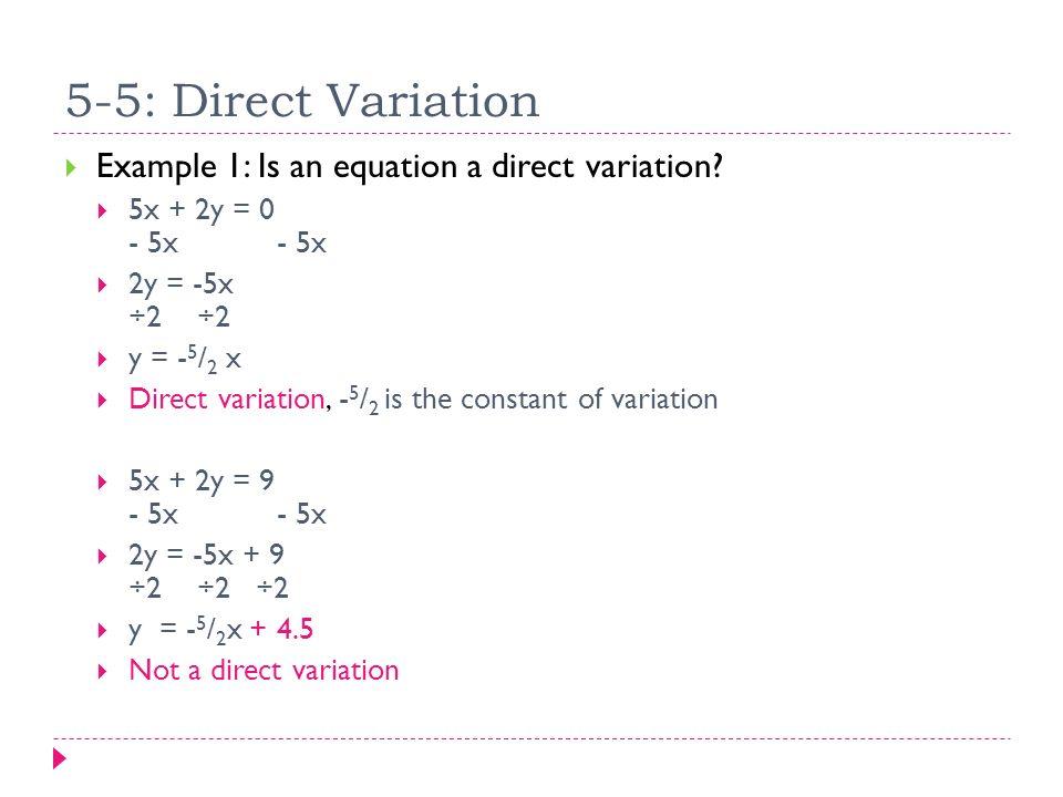 Direct Variation Worksheet Answers Nidecmege