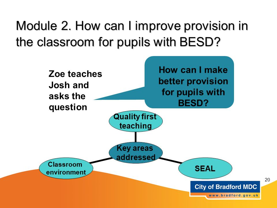 How can I make better provision for pupils with BESD
