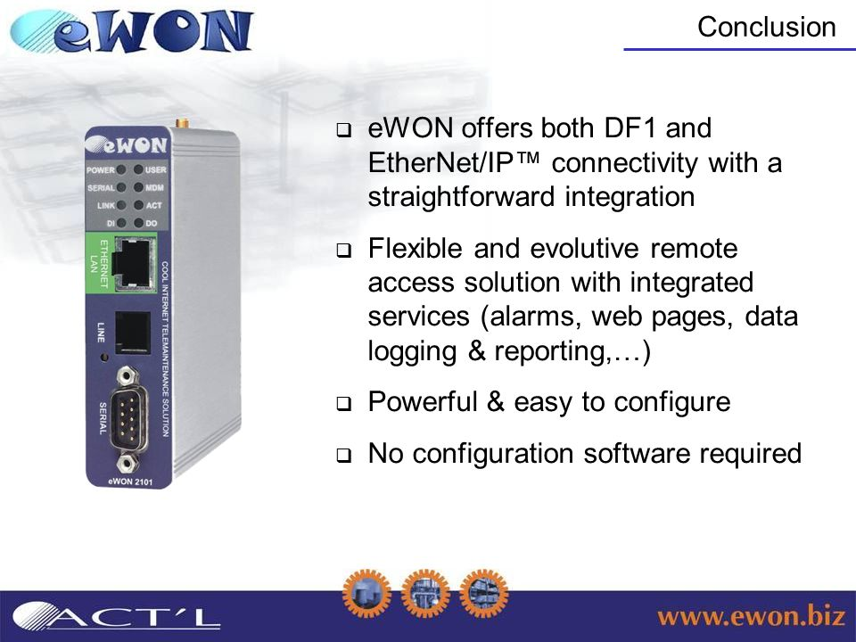 eWON & Rockwell Automation - ppt video online download