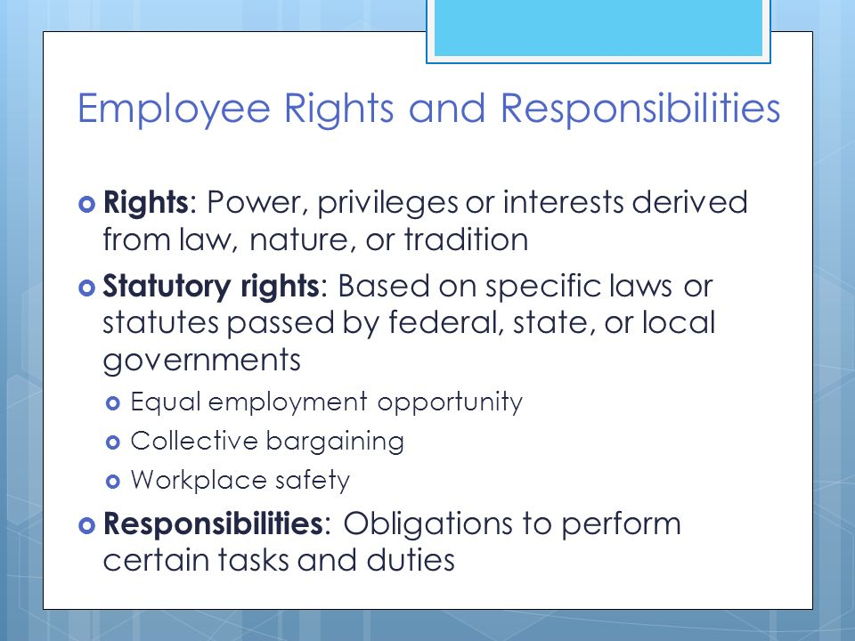 Duties of employees | atl the education union.